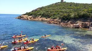 Kayak de mer-Porto Vecchio-Randonnée Kayak de Mer à Pinarello près de Porto Vecchio-1