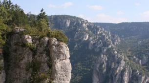 Rock climbing-Gorges du Tarn-Escalade en Grande Voie dans les Gorges de la Jonte-2