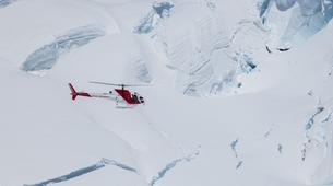 Helicopter tours-Franz Josef Glacier-Fox & Franz Josef Twin Glacier scenic heli flight with snow landing-4