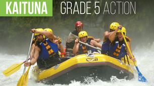 Rafting-Rotorua-Grade 5 White Water Rafting on the Kaituna River-1