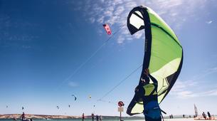 Kitesurf-Langebaan-Group kitesurfing lessons in Langebaan, South Africa-6