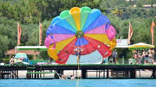 Parasailing-Corfu-Parasailing flight in Dassia beach, Corfu-5