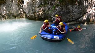 Rafting-Samoëns, Le Grand Massif-Rafting descent of Giffre river in Samoens-1