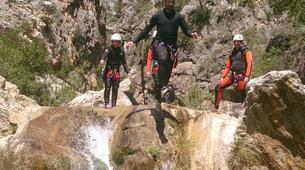 Canyoning-Granada-Canyoning at Rio Verde Gorge in Sierra Nevada-9
