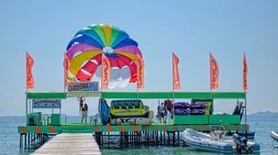 Parasailing-Corfu-Parasailing flight in Dassia beach, Corfu-6