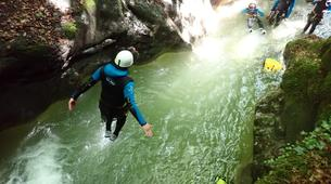 Canyoning-Annecy-Canyon d'Angon à Talloires, près d'Annecy-16