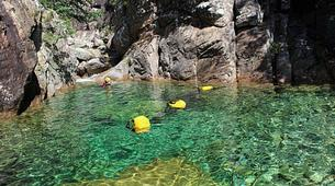 Canyoning-Bavella-Canyon de la Purcaraccia à Bavella, Corse-1