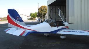 Microlight flying-Lille-Microlight first flight in Bondues near Lille-4