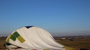 Hot Air Ballooning-Auxerre-Hot air balloon flight over Saint-Sauveur-en-Puisaye, Burgundy-9