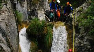 Canyoning-Breil-sur-Roya-Canyon de la Maglia à proximité de Nice-5