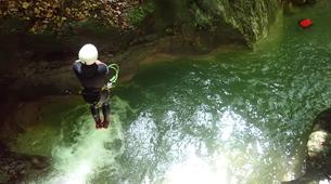 Canyoning-Annecy-Canyon d'Angon à Talloires, près d'Annecy-15
