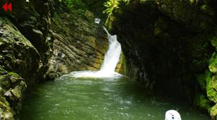 Canyoning-Breil-sur-Roya-La Bollène canyon near Nice-1