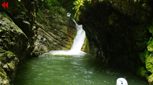 Canyoning-Breil-sur-Roya-Canyon Familial de Rio Abellio près de Nice-1