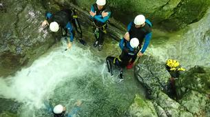 Canyoning-Annecy-Canyon d'Angon à Talloires, près d'Annecy-17