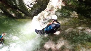 Canyoning-Annecy-Canyon d'Angon à Talloires, près d'Annecy-13