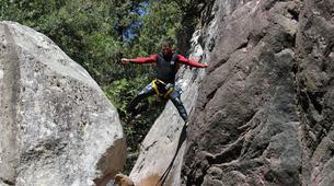 Canyoning-Bavella-Canyon de la Purcaraccia à Bavella, Corse-3