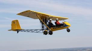 Microlight flying-Lille-Microlight first flight in Bondues near Lille-2