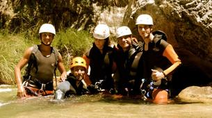 Canyoning-Granada-Canyoning at Rio Verde Gorge in Sierra Nevada-4