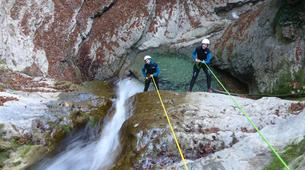 Canyoning-Annecy-Canyon d'Angon à Talloires, près d'Annecy-4