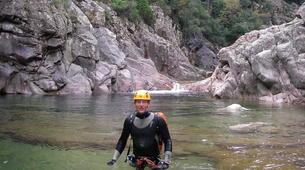 Canyoning-Ardèche-Canyon dans les Gorges de la Borne, Ardèche-2
