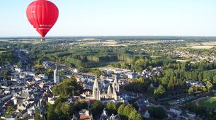 Hot Air Ballooning-Tours-Hot air balloon flight in Amboise, Touraine-2