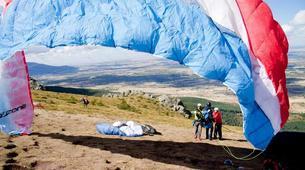 Paragliding-Madrid-Tandem paragliding near Madrid-7