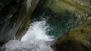 Canyoning-Breil-sur-Roya-Canyon of Carléva near Nice-3