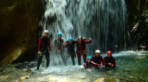 Canyoning-Laruns-Canyon du Gourzy dans la Vallée d'Ossau, Laruns-3