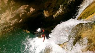 Canyoning-Granada-Canyoning at Rio Verde Gorge in Sierra Nevada-7