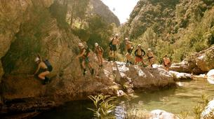 Canyoning-Granada-Canyoning at Rio Verde Gorge in Sierra Nevada-5