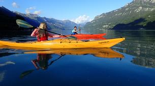 Kayaking-Interlaken-Kayaking tour on Lake Brienz, Interlaken-6