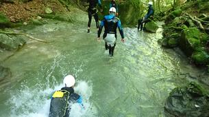 Canyoning-Annecy-Canyon d'Angon à Talloires, près d'Annecy-18