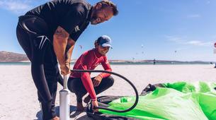 Kitesurf-Langebaan-Group kitesurfing lessons in Langebaan, South Africa-4