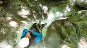 Canyoning-Annecy-Canyon d'Angon à Talloires, près d'Annecy-12