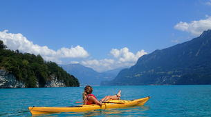 Kayaking-Interlaken-Kayaking tour on Lake Brienz, Interlaken-1