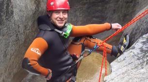Canyoning-Breil-sur-Roya-Canyon de la Maglia à proximité de Nice-4