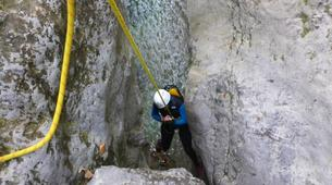 Canyoning-Annecy-Canyon d'Angon à Talloires, près d'Annecy-7
