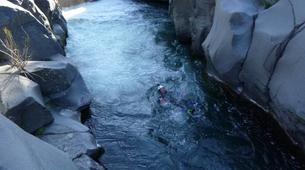 Canyoning-Riserva Naturale Orientata Bosco di Malabotta-Aquatic hike in River Alcantara near Riserva Naturale Orientata Bosco di Malabotta-7