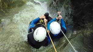 Canyoning-Annecy-Canyon d'Angon à Talloires, près d'Annecy-11