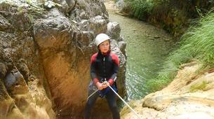 Canyoning-Breil-sur-Roya-Canyon Familial de Rio Abellio près de Nice-2