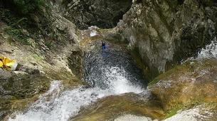 Canyoning-Breil-sur-Roya-Canyon of Carléva near Nice-1