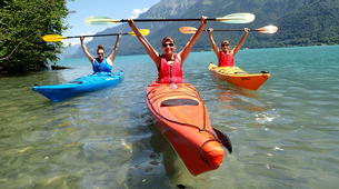 Kayaking-Interlaken-Kayaking tour on Lake Brienz, Interlaken-2