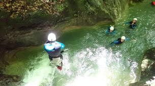 Canyoning-Annecy-Canyon d'Angon à Talloires, près d'Annecy-14
