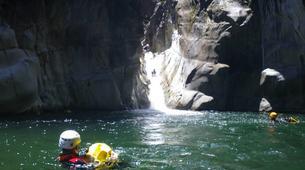 Canyoning-Cirque de Salazie, Hell-Bourg-Trou blanc canyon in Reunion Island-1