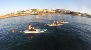 Stand up Paddle-Malta-SUP and yoga training in Ghadira Bay, Malta-2