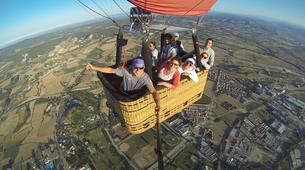 Hot Air Ballooning-Barcelona-Hot air balloon flights in Vic near Barcelona-2