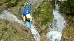 Canyoning-Jura-Gorges de Malvaux aquatic canyoning in Jura region-5