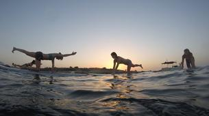 Stand up Paddle-Malta-SUP and yoga training in Ghadira Bay, Malta-4