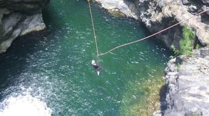 Canyoning-Cirque de Salazie, Hell-Bourg-Trou blanc canyon in Reunion Island-2