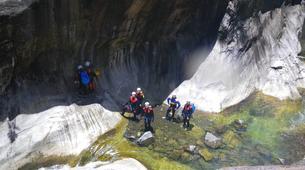 Canyoning-Cirque de Salazie, Hell-Bourg-Canyon de Trou blanc à La Réunion-4